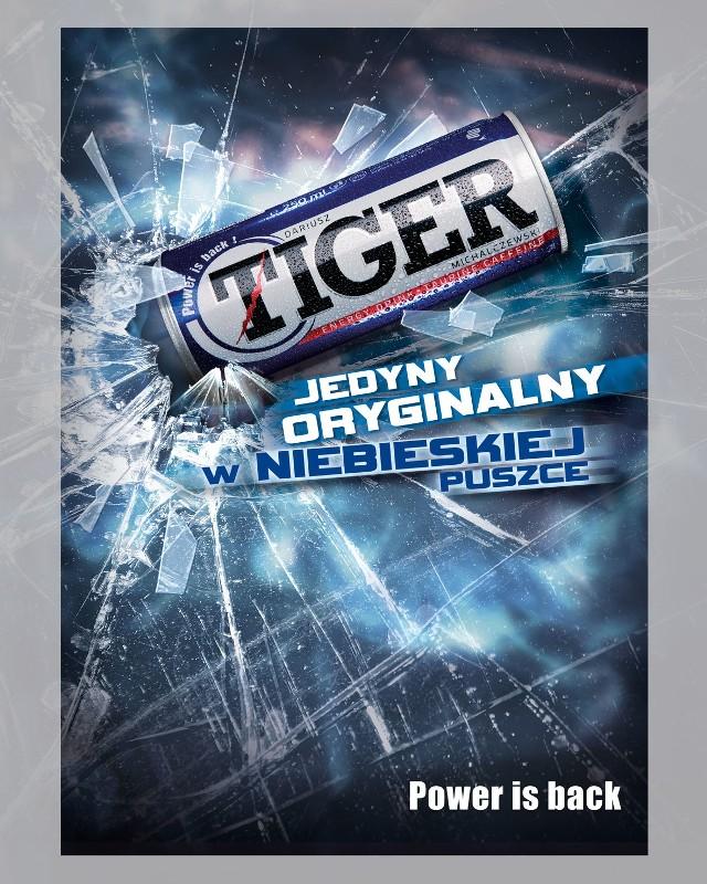 Napój energetyczny Tiger na licencji Dariusza Michalczewskiego