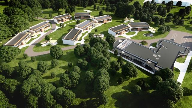 Według wstępnej koncepcji osiedle dla seniorów, które w miejscu lasu na Wrzosach ma zamiar wybudować TZMO, będzie się składało z wielofunkcyjnego pawilonu oraz dziewięciu dwukondygnacyjnych budynków z pięcioma mieszkaniami. Osiedle ma być otwarte, dostępne także dla mieszkańców Wrzosów.