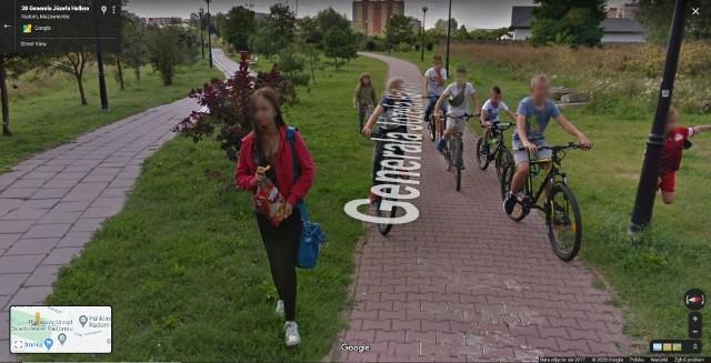 Kogo uchwyciły kamery Google Street View na radomskim osiedlu Gołębiów 2?