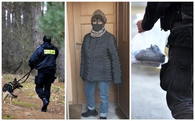 Od momentu zaginięcia aleksandrowscy policjanci sprawdzili wszystkie przekazane informacje mogące przyczynić się do odnalezienia kobiety. Do poszukiwań zostały wykorzystane psy służbowe.