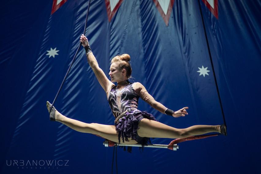W programie przewidziane są występy na trapezie.