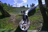 Nowa zjeżdżalnia rurowa dla dzieci w Sopocie. Tak chcieli mieszkańcy – inwestycja powstała dzięki Sopockiemu Budżetowi Obywatelskiemu