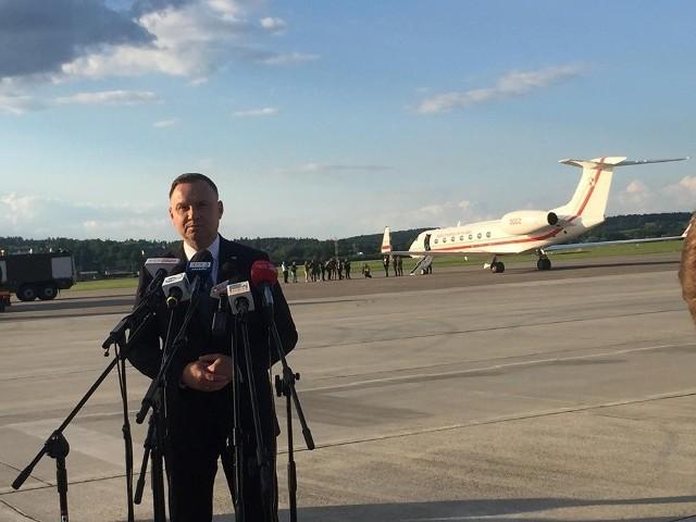 W środę prezydent Andrzej Duda spotka się w Białym Domu z prezydentem Donaldem Trumpem.