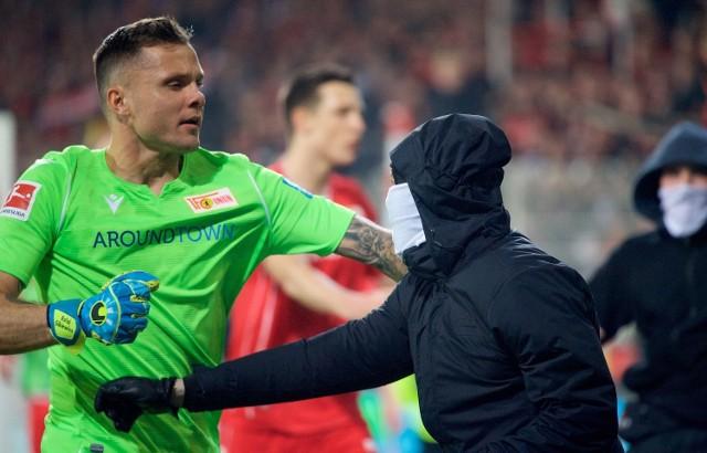 Rafał Gikiewicz postawił się chuliganom podczas derbów Berlina