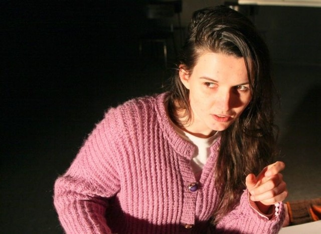 Joanna Zubrycka grała w spektaklu Ławeczka