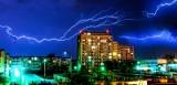 Pogoda w kujawsko-pomorskiem. W nocy możliwe wichury, ulewy, a nawet trąby powietrzne w całym regionie! IMGW wydał ostrzeżenia