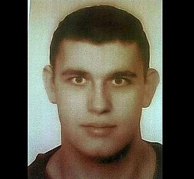 Zaginiony 25-letni mężczyzna.