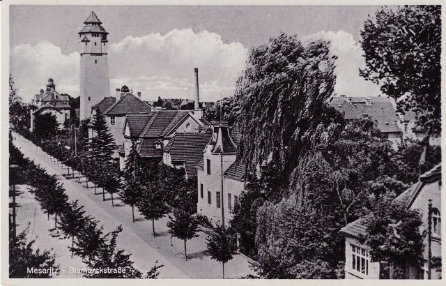 Do 1945 r. ul. Staszica nazywała się Bismarckstrasse