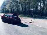 Wypadek motocyklisty między Różnakami, a Zdroiskiem. Policja szuka świadków