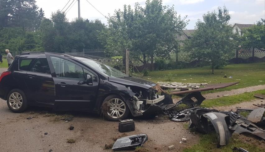 Wypadek w Drężku, 27.06.2020