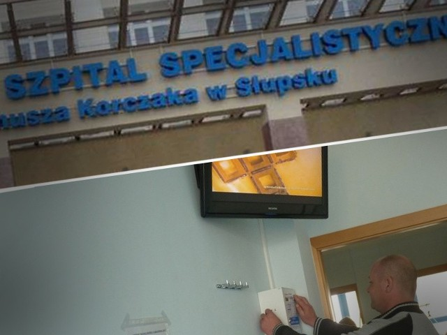 Szpital w Słupsku. Jest WI-FI, będzie 200 telewizorów na kartę