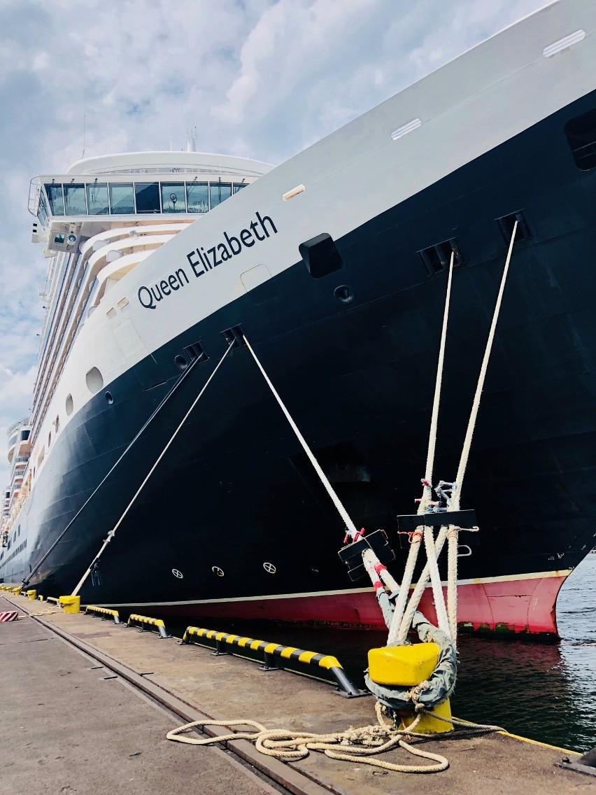 Queen Elizabeth w Gdyni