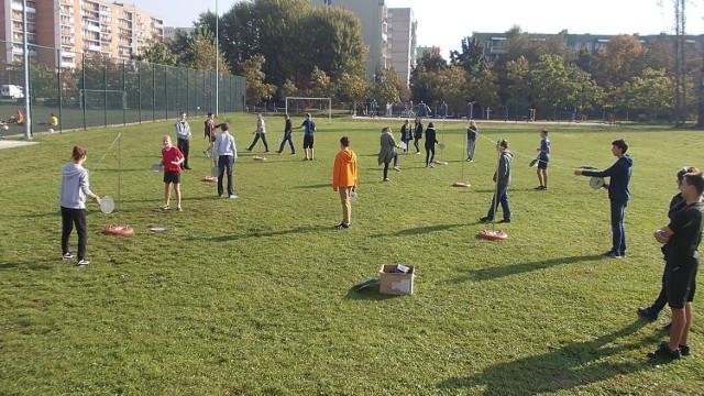W poniedziałek speed ball królował na boisku Gimnazjum nr 2 w Tarnobrzegu.