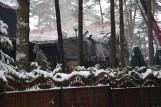 Augustów. Hotel Necko spłonął, bo zapaliły się sadze