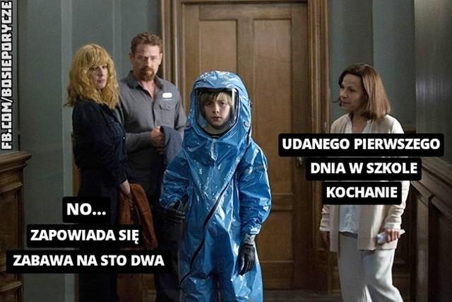 Nowy rok szkolny oczami internautów. Memy oswajają szkolną rzeczywistość w dobie pandemii koronawirusaZobacz kolejne memy. Przesuwaj zdjęcia w prawo - naciśnij strzałkę lub przycisk NASTĘPNE