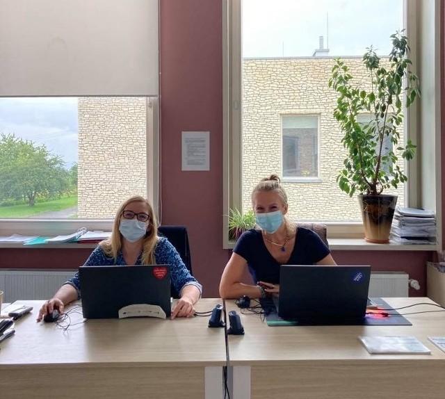 Ekodoradcy z gminy Wielka Wieś podczas konsultacji w Modlniczce