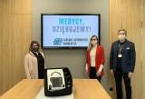 Zakłady Automatyki Kombud przekazały respirator dla Radomskiego Szpitala Specjalistycznego