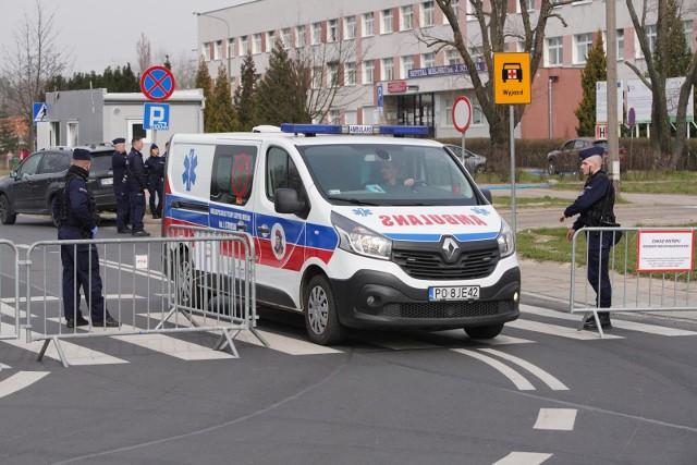 Jak się dowiedzieliśmy, kolejna zakażone koronawirusem wyszła ze szpitala przy ul. Szwajcarskiej w niedzielę 5 kwietnia.
