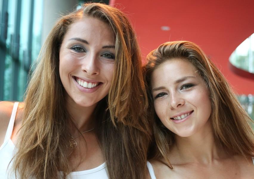 Anna Wierzbowska (z lewej) i jej siostra Maria brały udział w igrzyskach olimpijskich w Rio.