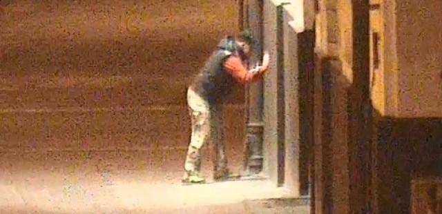 Mężczyznę, który rysował po Operze Bałtyckiej zatrzymała gdańska policja
