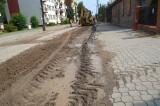 Bielsk Podlaski. Uciążliwy remont ul. Jagiellońskiej. Mieszkańcy skarżą się na ciągłe problemy, hałas i kurz, a końca remontu nie widać.