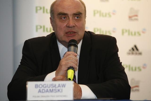 Prezes Bogusław Adamski