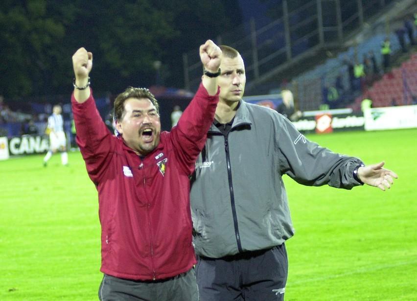 Bogusław Baniak przeżył w Pogoni zwycięstwa i porażki. W 1998 roku uratował zespół przed degradacją z ekstraklasy. W 2004 wygrał rozgrywki w II lidze.