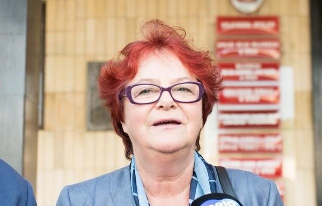 Wanda Sobiborowicz, szefowa Związku Nauczycielstwa Polskiego na Opolszczyźnie.