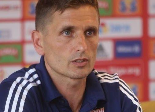 Trener Marcin Brosz odczuwał spory niedosyt po meczu z Koroną.