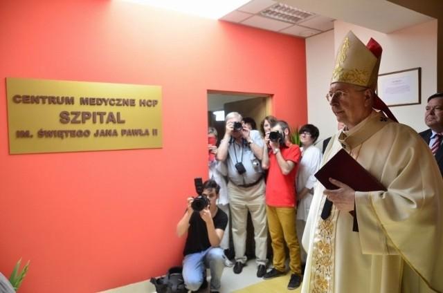 Szpital HCP nosi teraz imię Jana Pawła II