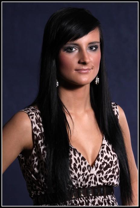 Anna Maria Ostrowska w konkursie Miss Podlasia 2009 startuje z numerem 8.