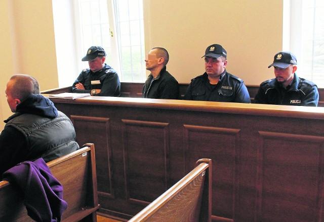 Oskarżony Rafał C. przed myślenickim sądem