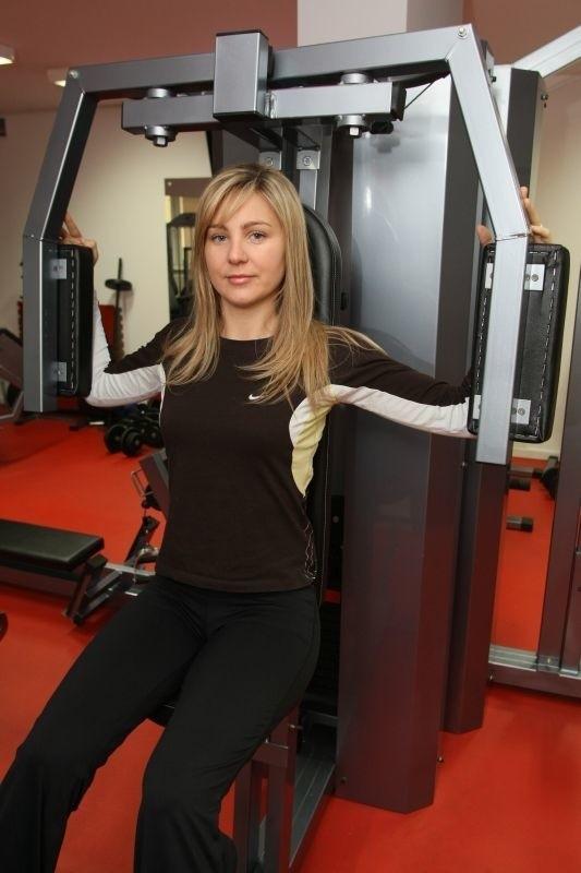 Olga Chaińska, właścicielka klubu Expert Fitness, jednego z partnerów naszej akcji.