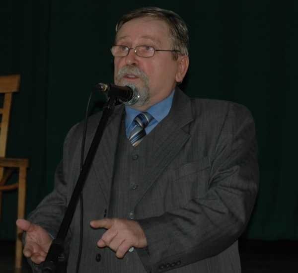 Prof. Bogusław Wyderka.