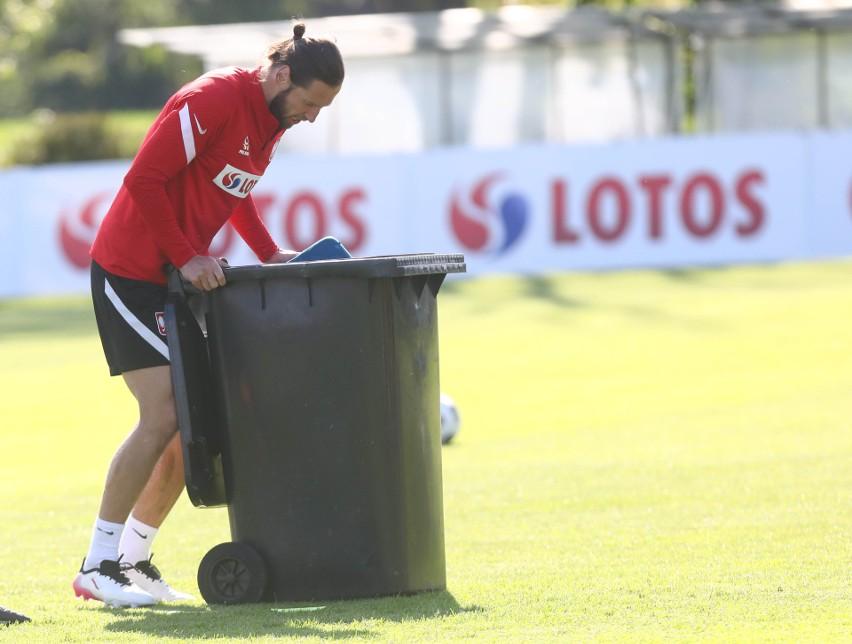 Reprezentacja Polski na niedzielnym treningu była w bardzo...
