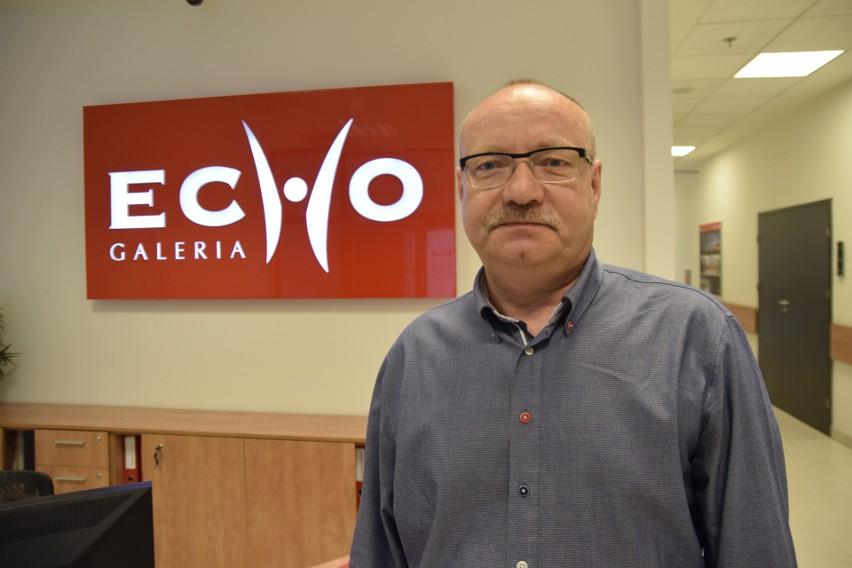 Grzegorz Czekaj, dyrektor Galerii Echo w Kielcach