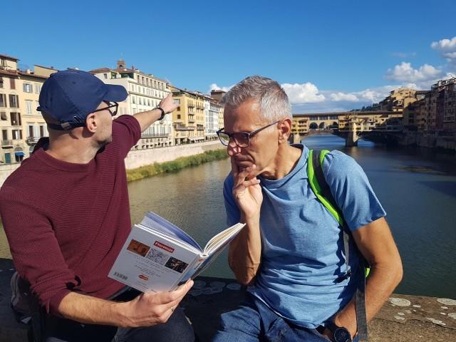 Piękna Florencja jest miejscem, w którym grupa nauczycieli inowrocławskiego I LO pogłębia wiedzą na temat  kultury śródziemnomorskiej