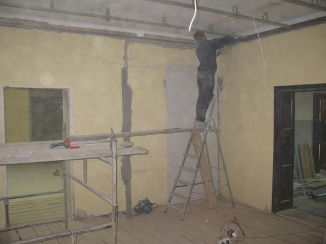 Prace remontowe w bytowskim ratuszu