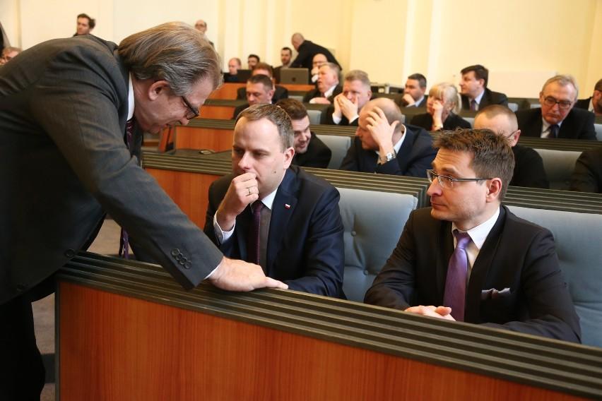 Do sejmiku wystartują Andrzej Jaroch (z lewej) oraz, najprawdopodobniej, radny miejski Marcin Krzyżanowski (z prawej)