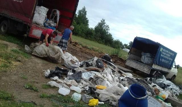 Folie rolnicze i inne odpady z gospodarstw w gminie Ostrów Mazowiecka zabierane są za darmo.
