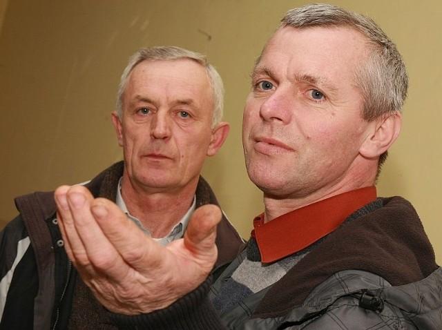 - Władze traktują Kursko po macoszemu i tylko zwodzą nas obietnicami - mówią Tadeusz Klimczak i Jaremiusz Konieczny.
