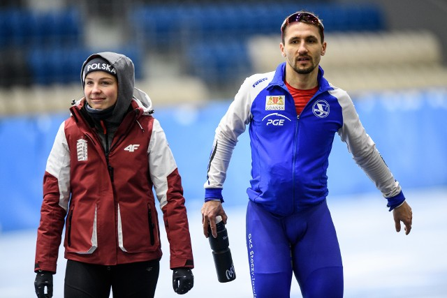 Kaja Ziomek i Artur Nogal ze złotymi medalami opuścili Arenę Lodową w Tomaszowie Mazowieckim