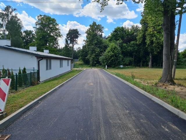 Wyremontowana droga na osiedlu Leśnym w Sępólnie