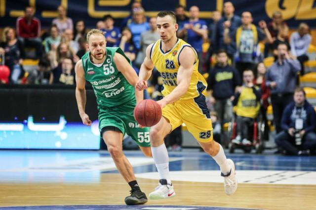 Przemysław Żołnierewicz jest nowym koszykarzem Zastalu Enei BC Zielona Góra.