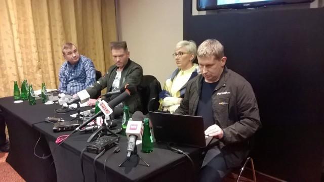 Krzysztof Rutkowski zorganizował kolejną konferencję prasową