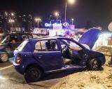 Wypadek na al. Bandurskiego. Dwie osoby w szpitalu [zdjęcia]