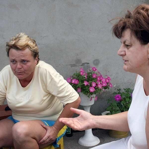 Od lewej: Jadwiga Witoń i Ewa Sałek.