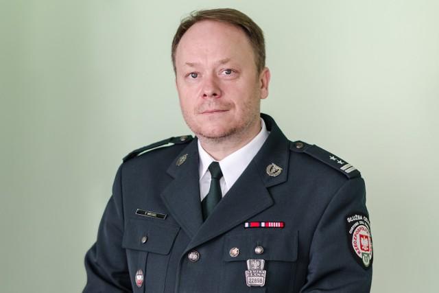 Mł. insp. Tomasz Węgiel - nowy dyrektor Izby Celnej w Białymstoku