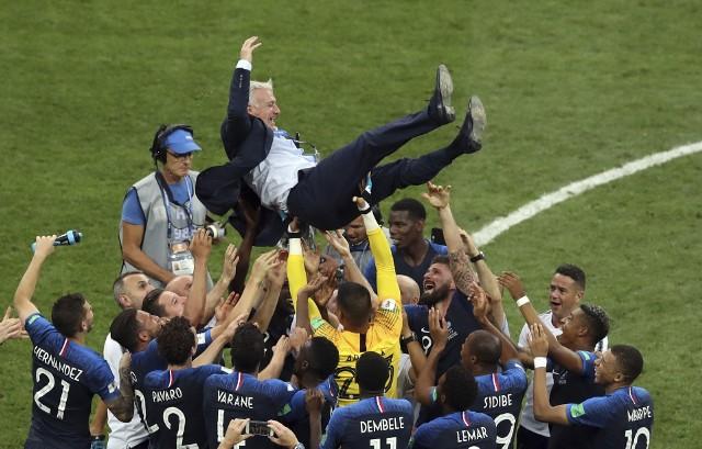 Didier Deschamps dorównał Zagallo i Beckenbauerowi