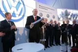 Tak kamień wmurowywali - fabryka Volkswagena pod Wrześnią